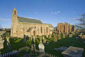 St Mary's Church, Holy Island, Northumberland